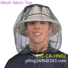 Insecticide treated mosquito head net for army