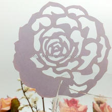 Flower shape wedding Supplies seat card party favor table place card for decoration BK40