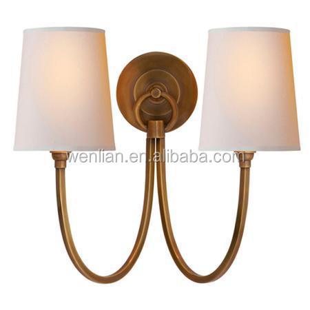 Double Swag Sconce - 2 light bath room wall lamp made in Zhongshan