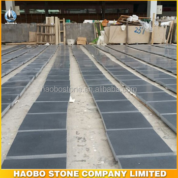 Wholesale Shanxi Black Honed Granite Tile