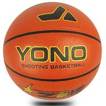 YONO YN-801 Top PU Match basketballs for sale in club school or adult size 7# wholesale