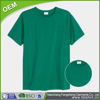 Fashion green 200 grams wholesale blank t shirts