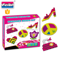 wholesale art and craft toys perler ironing beads educational creative sets.