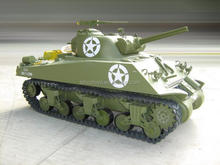 Hot Toys for boys Electric powered 1:6 RC Tank M4A3 Sherman Tank RC Tank without controler toys cars