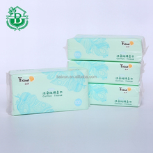 car facial tissue paper box wholesale customized white compressed cotton tissue
