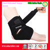 Adjustable and breathable velcro neoprene ankle brace lace up support