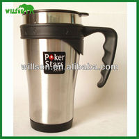Stainless steel keep warm office cup