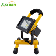 Zhongshan Lighting Industry 10W 20W 30W 50W Portable Recharge 12 Volt Led Flood Light