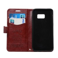 Classic Leather Magnetic Flip Wallet cellphone Cover case for Samsung GALAXY S7
