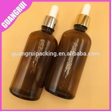 Hot sale Amber Glass Essential Oil Bottle