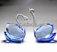 Crystal Wedding Souvenir Crystal Swan, Crystal Animal Ornaments