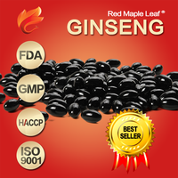 Best price American Ginseng Extract Supplement Soft Gels