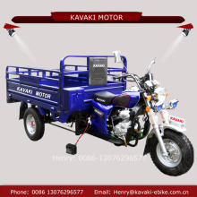 KAVAKI factory export 200cc 300cc zongshen engines auto rear axle three rim mini rickshaw