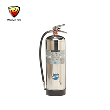 Winner brand 2.5 gallon water mist AC fire extinguisher rechargeable