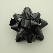 Hot sale & high quality paper metallic plastic ribbon star bow