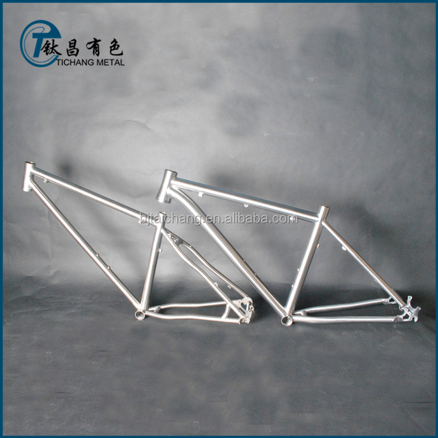 Titanium alloy slope mountain bicycle frame with best price