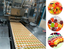 fruit jelly/soft candy machinery/gummy bear candy machine production