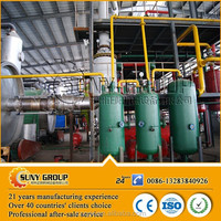 High output hot sale pyrolysis plant in rubber raw material machine