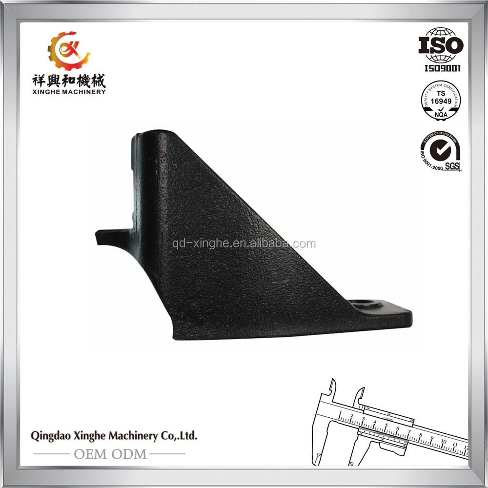 ISO sand casting China manufacturer steel sand casting parts steel casting for railway