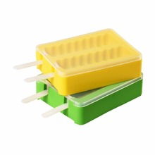 Silicone Popsicle Maker Ice Pop Molds, DIY Ice Cream Maker for Kids