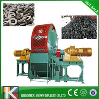 Used tire cutting machine /waste tire recycling equipment /tyre cutter shredder crushing machine for sale