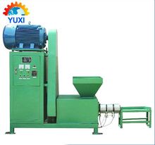 Low price coal dust briquette machine/wood paper charcoal briquette extrusion machine