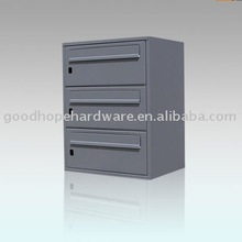 GH-DW31 powder coating apartment building mailbox