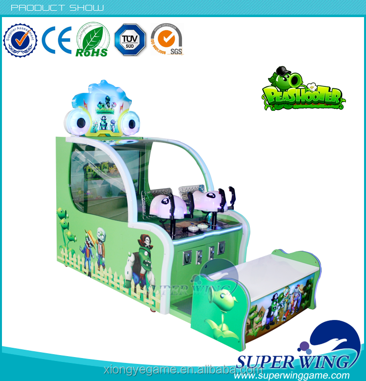 Game plants vs zombies unblocked game machine 4d shooting game machine