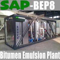 SAP-BEP8 Multifunction Bitumen Emulsion Plant