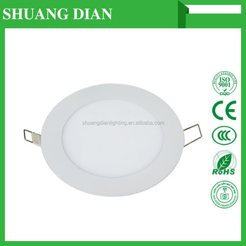 Shuangdian lighting LED panel lights 12W 30000H Wholesale Cheap 200V 240V SMD 2835 3000K 6500K low price