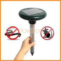 Mole Repeller Ultrasonic Solar Powered Repel Voles Gopher Mice Rats Rodent for Lawn Garden Yards