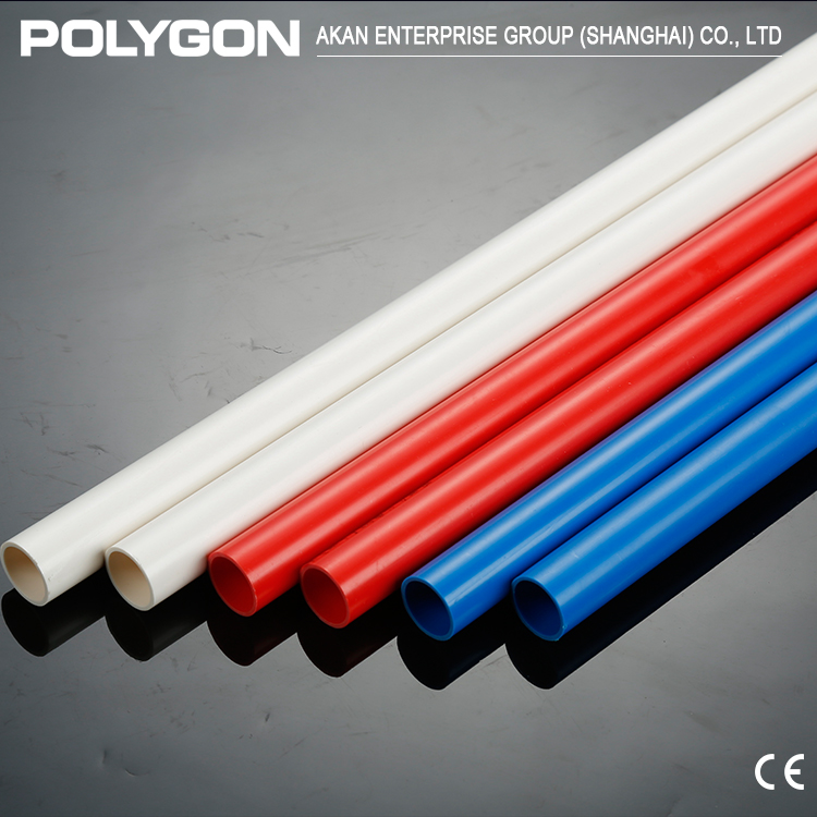 PVC flexible pipe wholesale price and non-toxic pvc-u drainage Polygon Pvc Well Casing Pipe