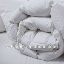 pure white soft hotel duck feather comforter