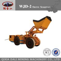 5% sale off ! WJD- 2 Electric LHD 2 cubic meters underground scooptram/loader