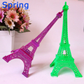NICE FASHION colourful eiffel Tower model craft