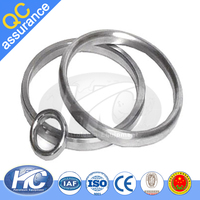API 6A flange gasket / solid rings of metal / RTJ