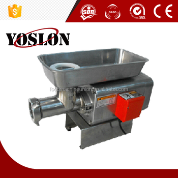 YJT22H 330kg/hour stainless steel electric meat mincer CE approval