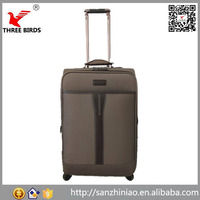 Online shopping bag baigou fabric trolley luggage for travel