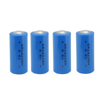 ER14335M 3.6V lithium battery 2/3aa size li battery with high power 1300mAh
