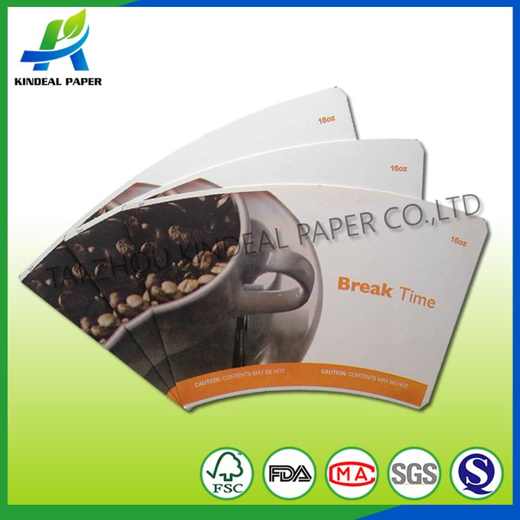 TAIZHOU pe coated matt art coated paper
