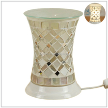 Wholesale High quality colorful glass mosaic electric wax tart warmers