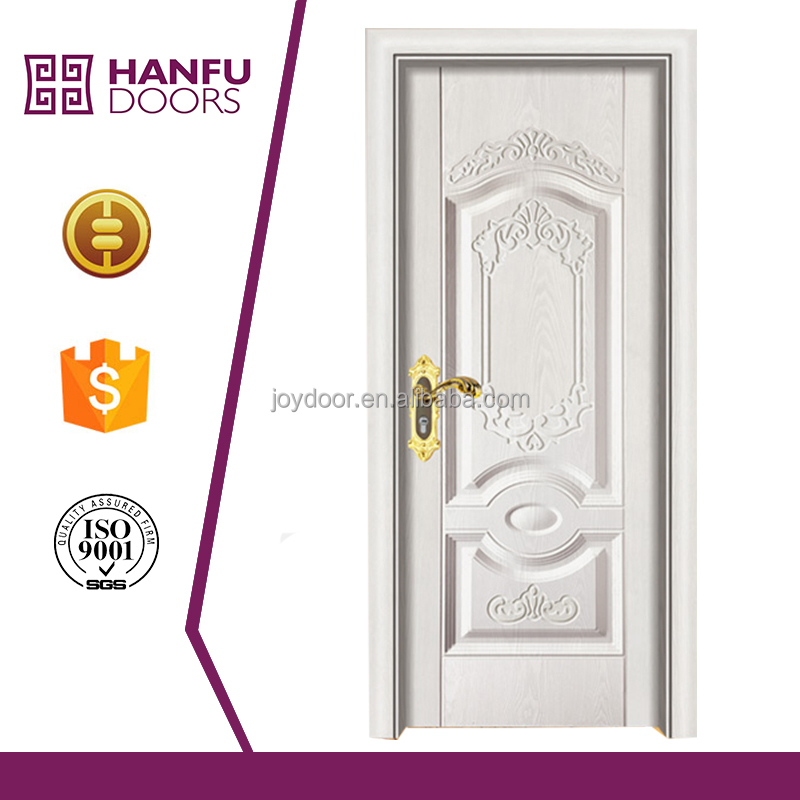 New Popular wood steel door wood door with steel