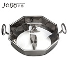 High Quality Stainless Steel Hot Pot Heat Protection Shabu Shabu Pot