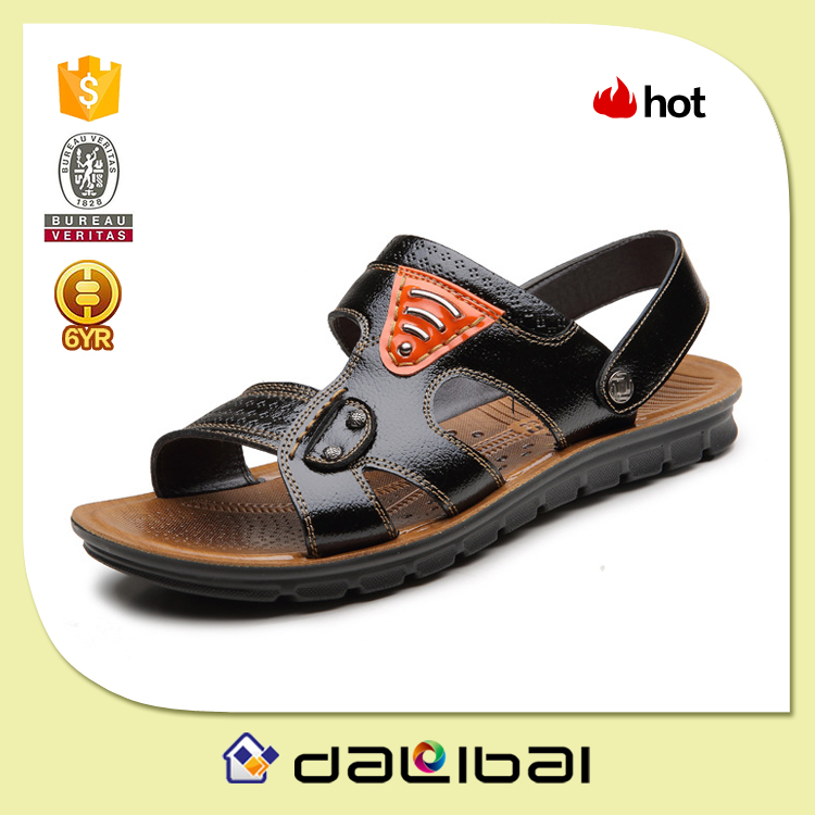 2015 high quality factory wholesale good quality india style leather chappal