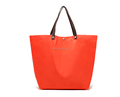 Extra Large Reuseable Eco-Friendly PU Nylon Material Tote Bag Waterproof Foldable Shopping Bag
