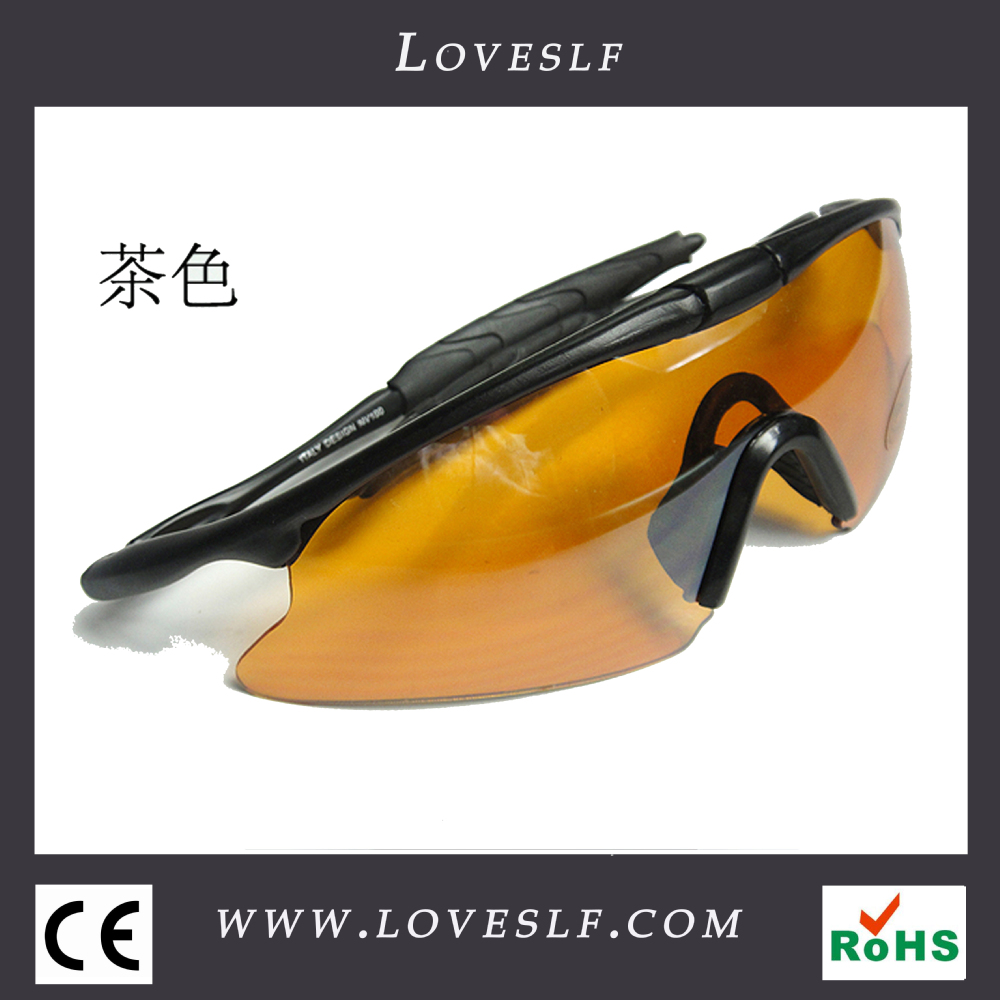 Wholesale fashion safety X100 anti impact glasses and uv400 Protective sunglasses