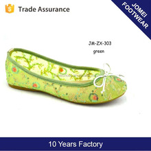 Fancy flat shoes women shoes mesh china guangzhou wholesale market of shoes