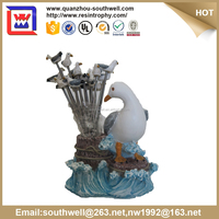 hot selling seagull fruit pick and polyresin fruit pick and resin fork container