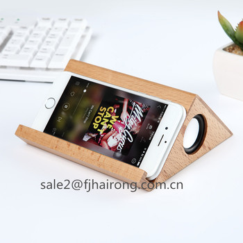 hot selling Triangle NEW style bluetooth wireless light wood speaker