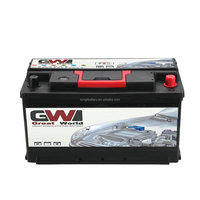 Best quality GW brand 12V DIN 12v N100 60038MF auto rechargeable battery